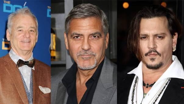 George-Clooney-Johnny-Depp-Bill-Murray