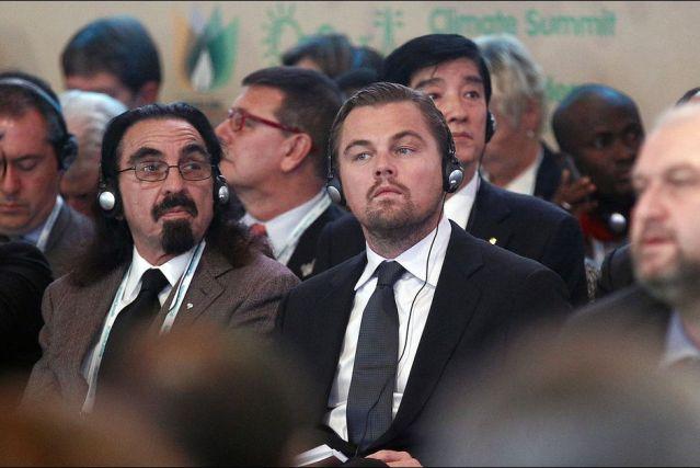 Di Caprio à Paris pour la COP21