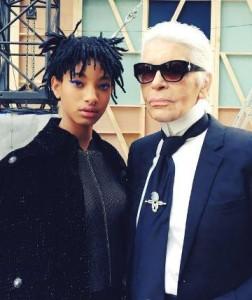 Willow Smith lice pariskog branda Chanel