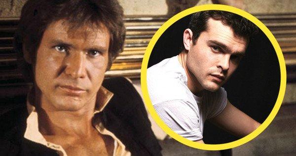 Han Solo Alden Ehrenreich
