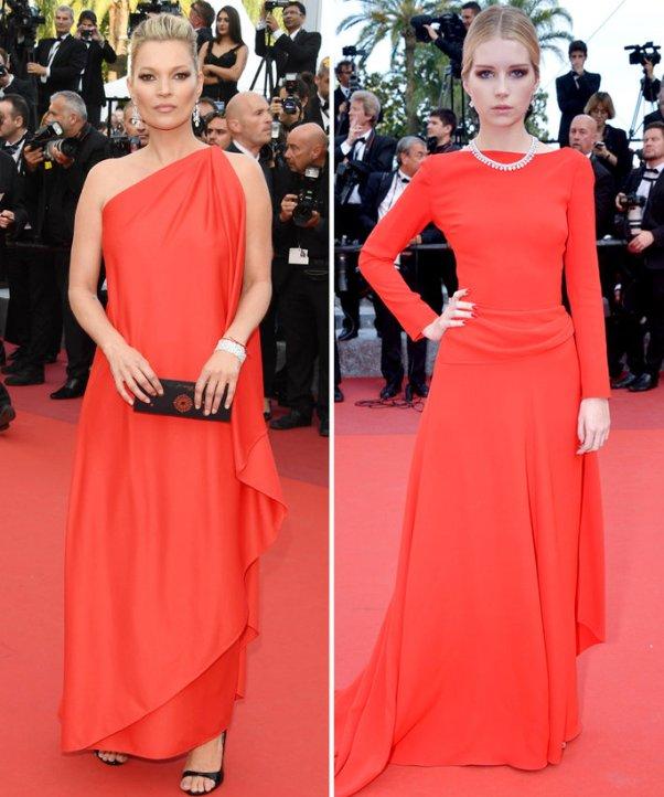 Kate and Lottie Mossman à Cannes