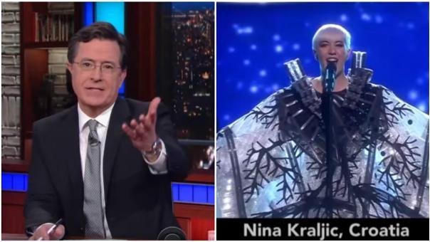 Stephen Colbert eurosong