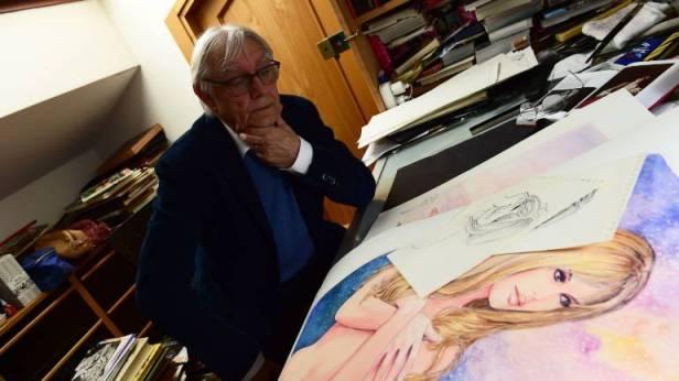 Milo Manara slika Bardot