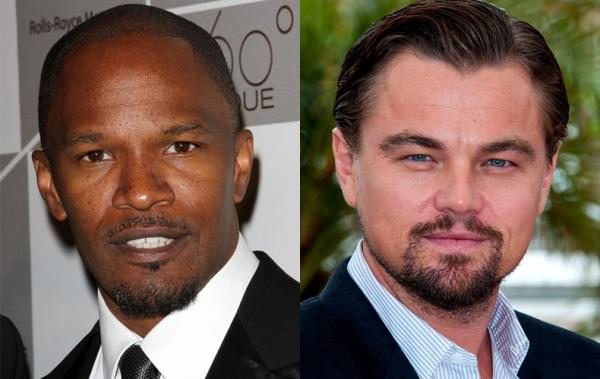 Jamie-Foxx-Leonardo-DiCaprio