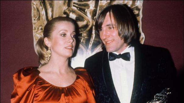 Deneuve et Depardieu 1981